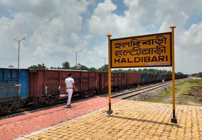 First goods train to reaches Bangladesh thru Haldibari-Chilahati route today