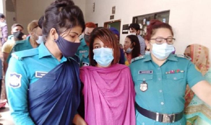 Dhallywood actress Eka lands in jail