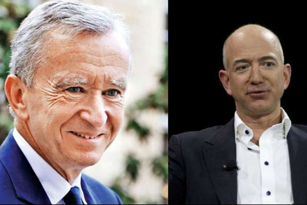 Bernard Arnault once again the world's richest person after Jeff Bezos loses nearly $14 billion in one day