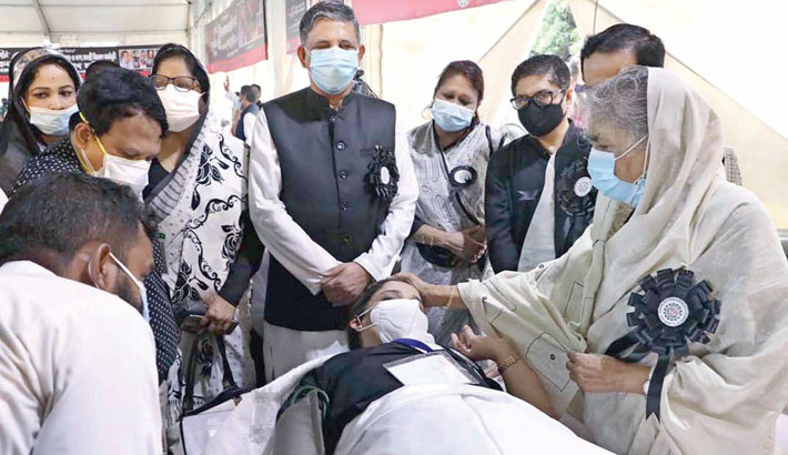 Face mask a must in mourning ceremonies