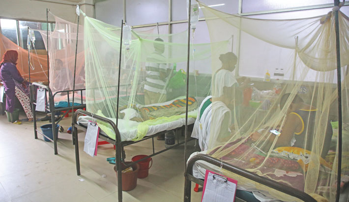DGHS 'worried' about dengue situation