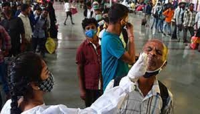 India records 40,134 new Covid-19 cases, 422 deaths; Positivity rate at 2.81%