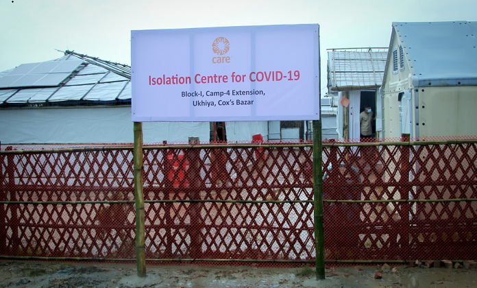 CARE Bangladesh opens first COVID-19 Isolation Center at Rohingya Camp in Cox's Bazar