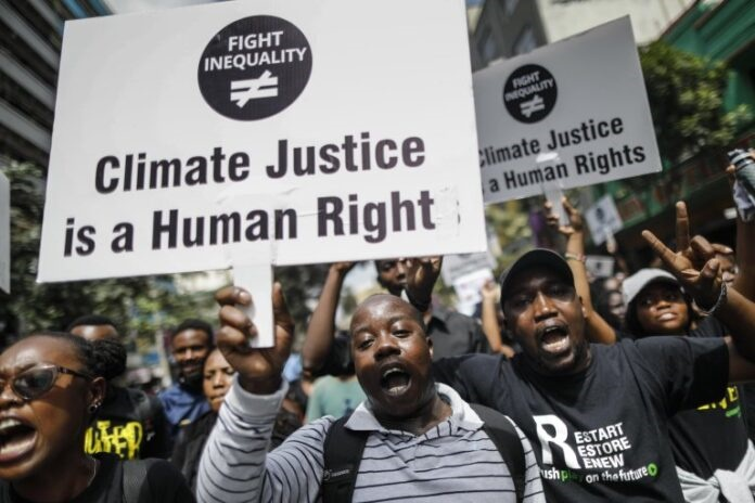 Climate change is a human rights cause