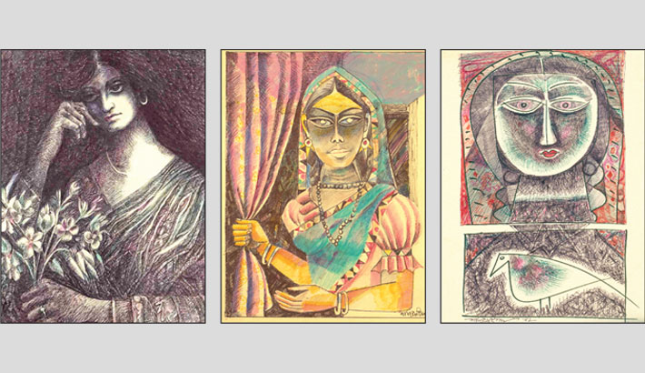 'The Secret Art of the Mysterious Artist' at Mrinmoy Art Gallery