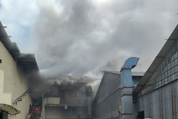 Leather factory catches fire in Narayanganj