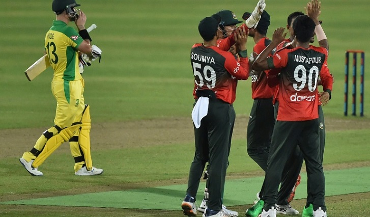 Wade demands bravery after Australia's first T20 loss to Bangladesh