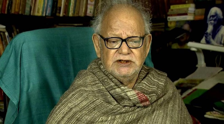Litterateur Buddhadeb Guha hospitalised with respiratory complications