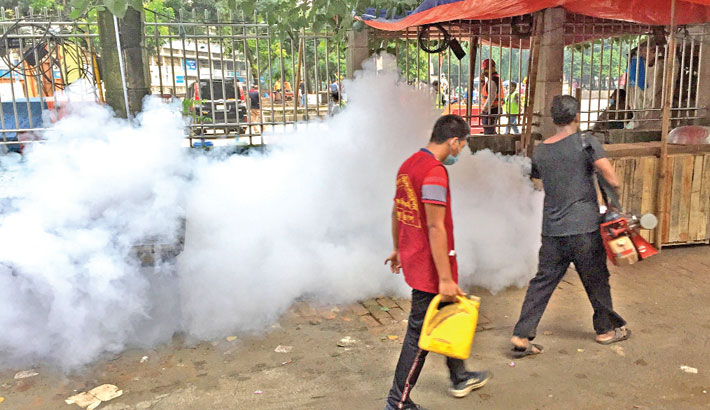 Mohakhali zone turns into hotspot for Aedes