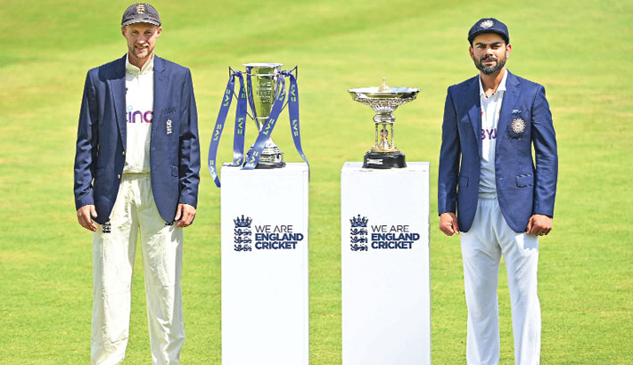 England, India clash in first Test of new WTC cycle