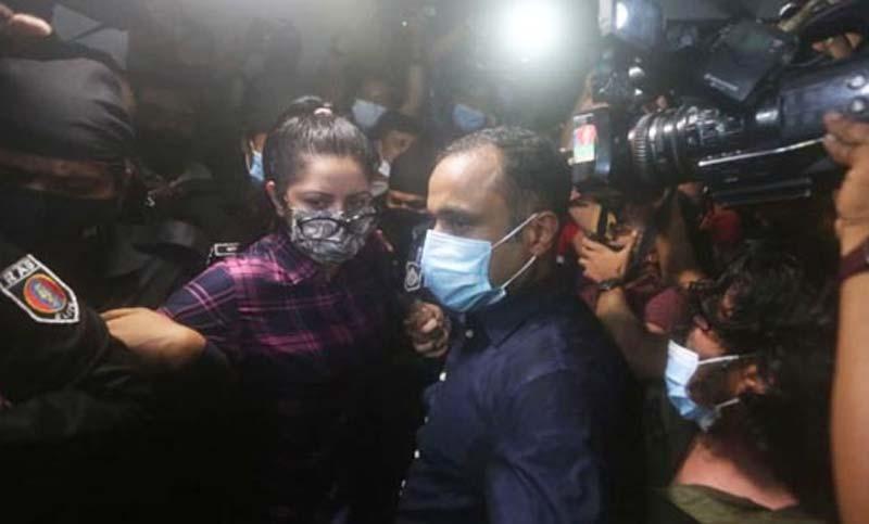 Pori Moni taken to RAB custody