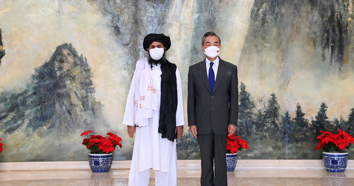 Taliban's meeting with Chinese leadership