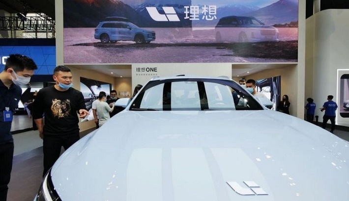 China Tesla rival plans Hong Kong secondary listing