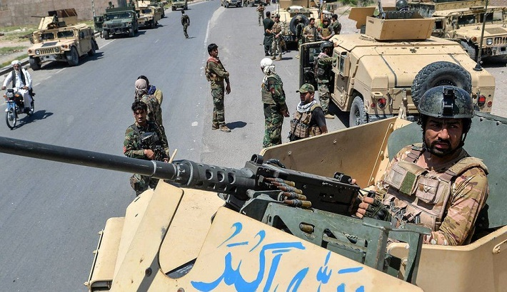 Bodies on the streets as fighting traps Afghans