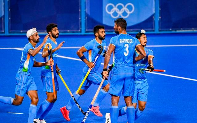 India end 41-year wait for hockey medal, beat Germany 5-4 to win bronze