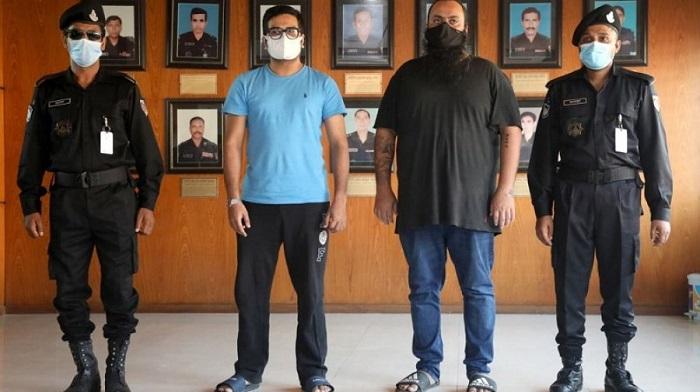 Mishu Hasan, associate arrested