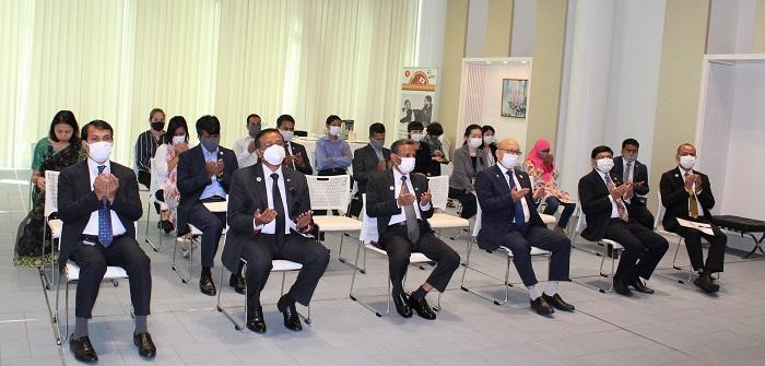 Tokyo Mission celebrates 72nd Birth Anniversary of Shahid Captain Sheikh Kamal
