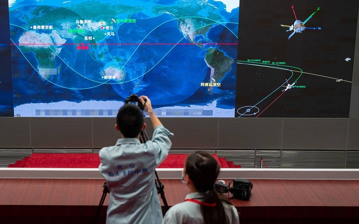 Growing concerns over China's space programme