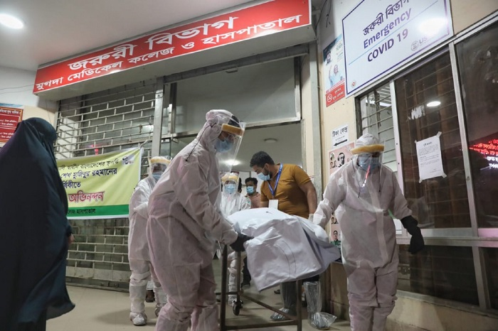 Bangladesh shatters its own records; reports 264 single-day Covid deaths