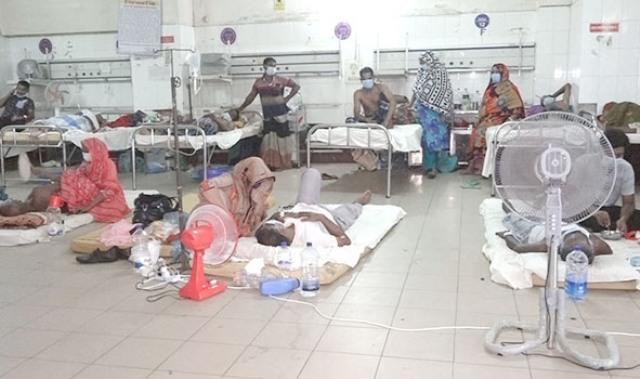 Hospitals overwhelmed