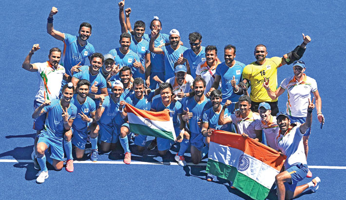 India end four-decade hockey medal drought