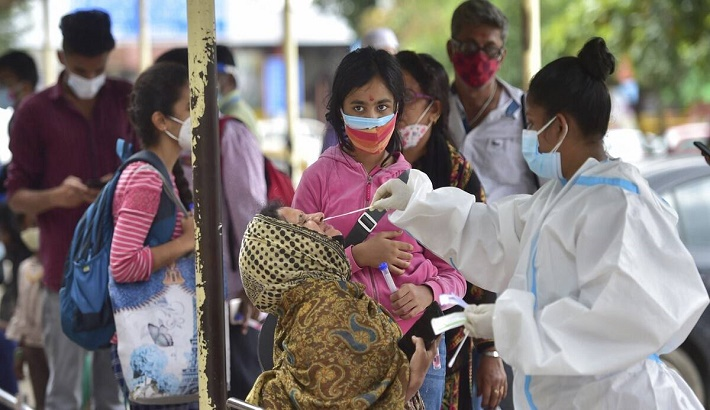 India records 44,643 new Covid cases, the maximum in about a month