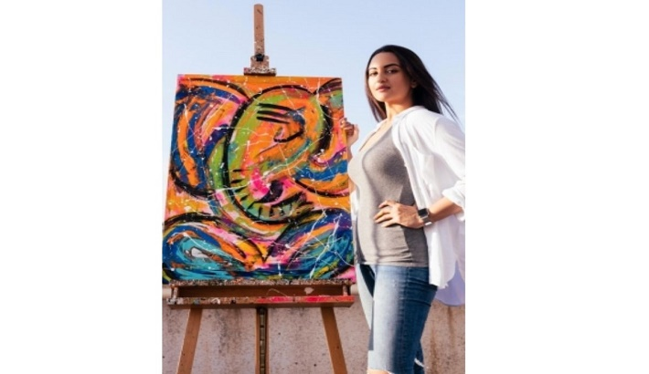 Sonakshi has always been 'low-key' about her art