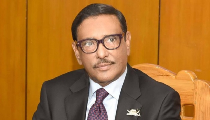Plotters out to efface Bangabandhu's name are being erased now: Quader