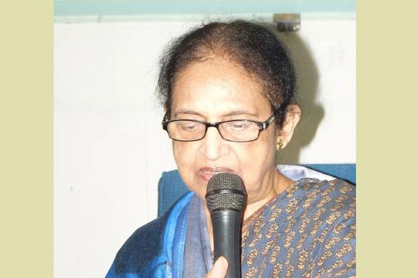 Educationalist Najma Chowdhury dies of Covid-19