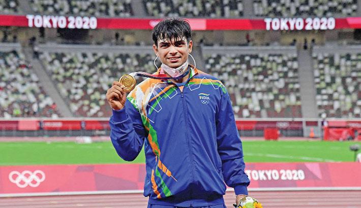 Neeraj Chopra strikes India's first-ever athletics gold in javelin