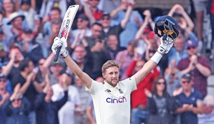 Root hits 21th Test century