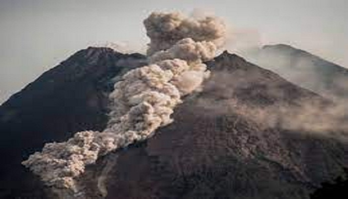 Indonesia's Mount Merapi erupts with bursts of lava, ash