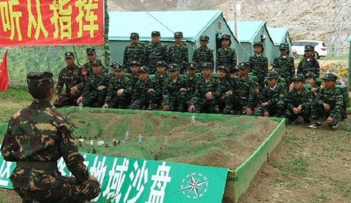 Tibetan Students Forced to Take Military Training During Summer Break