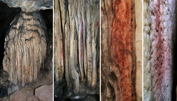 Prehistoric cave markings prove Neanderthals 'paint art like humans'
