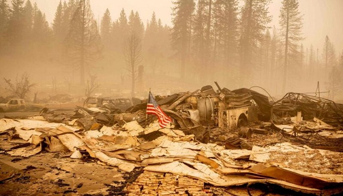 California wildfire now second-worst in state history