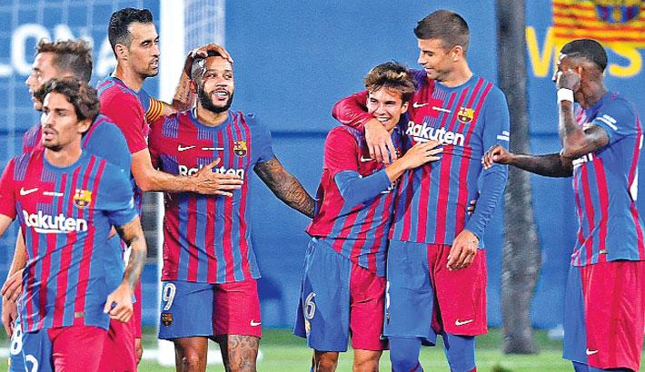 No Messi, no problem as Barca defeat Juve