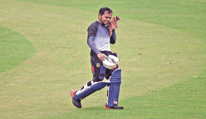 Mushfiq starts preparation for NZ series