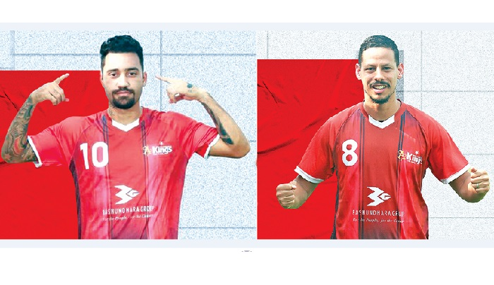 Brazilian duo aims to bring more success for Kings