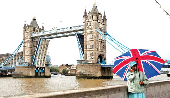 London's Tower Bridge reopens to traffic