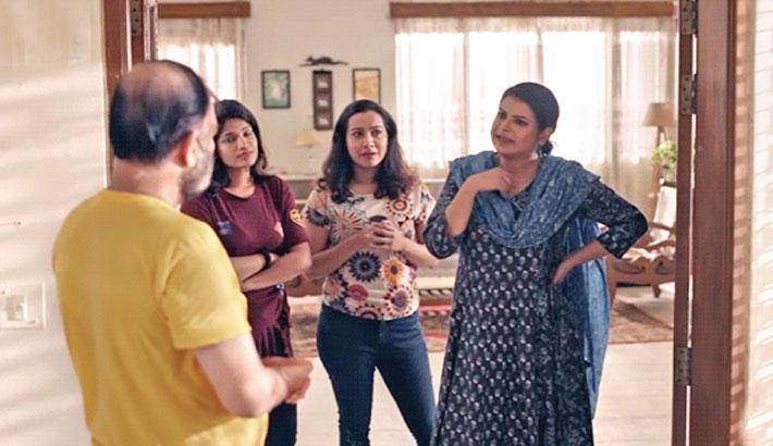 House No 96', a drama serial, will  be aired on Ntv at 09:40pm today. Written by Ibrahim Chowdhury Akib  and directed by Mahmudur Rahman Hime, the play stars Afran Nisho, Kochi Khandokar, Faria Shehrin, Monira Mithu, Sabnam Faria, Irfan Sajjad, Al Mamun, Mili Bashar, Sallha Khanam Nadia and others.