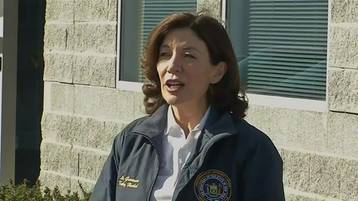 Kathy Hochul to be 1st female NY governor after Cuomo leaves