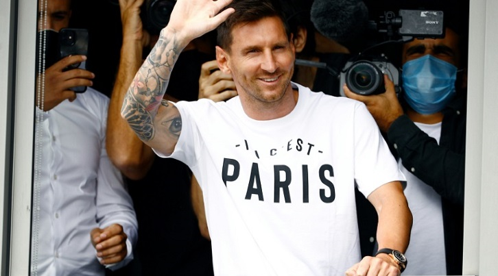 Messi eyes 'something special' at PSG before presentation