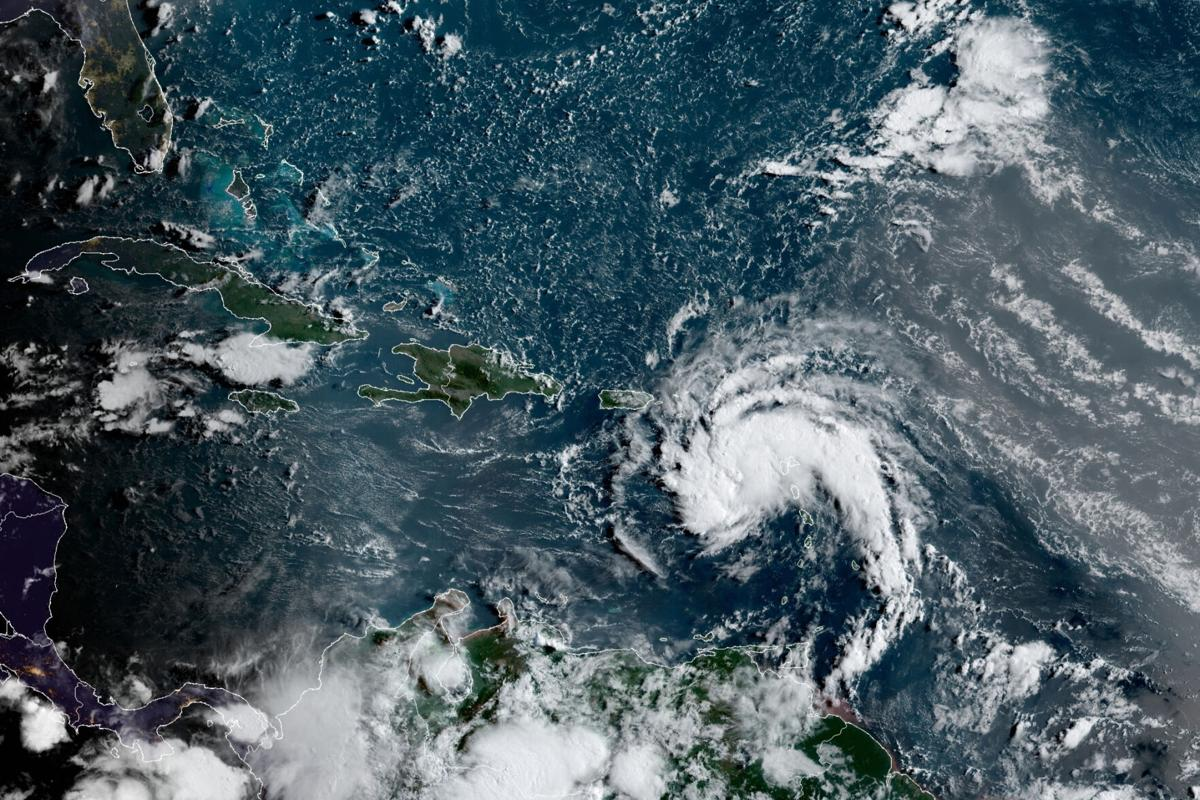Tropical Storm Fred forms off Puerto Rico