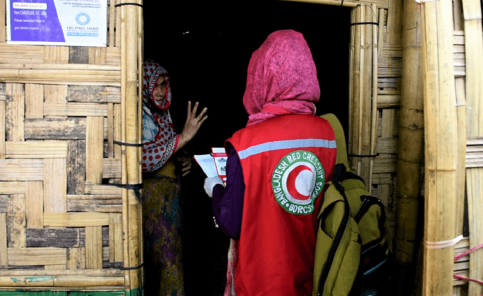 COVID-19 vaccination begins in Rohingya camps