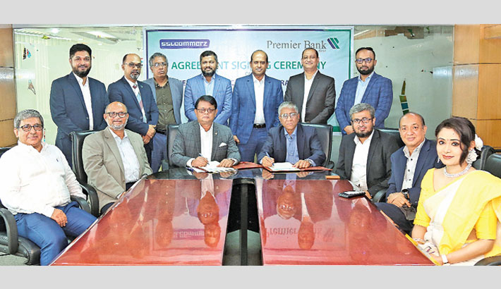 Premier Bank inks deal with SSLCOMMERZ