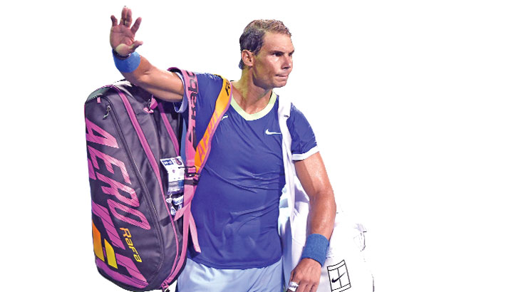 Injured Nadal withdraws from Toronto Masters