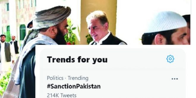 Afghans launch social media campaign against Pakistan