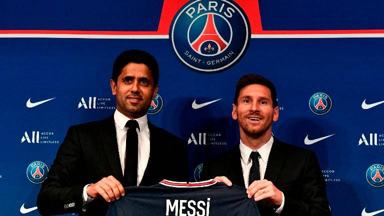Messi sets sights on Champions League 'dream' after PSG unveiling