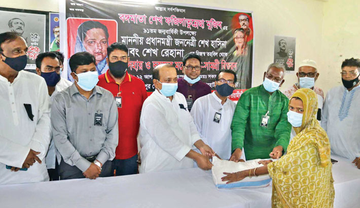 'Hasina plays role of our mother'