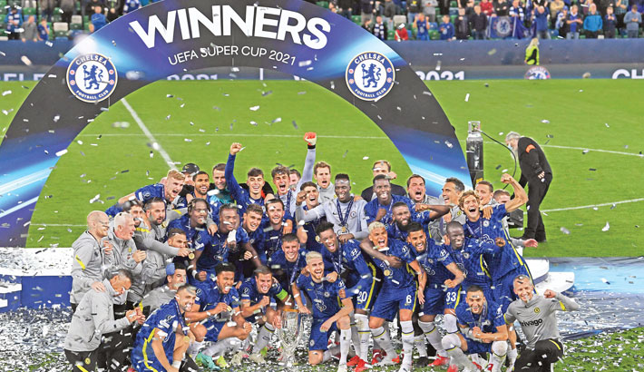 Chelsea edge out Villarreal to win Super Cup